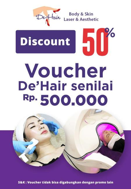 DEHAIR CLINIC DISCOUNT 50